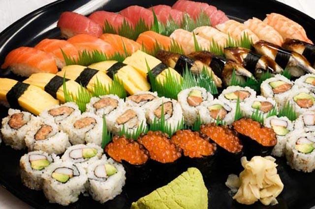 Sushi được coi là quốc thực tại Nhật Bản