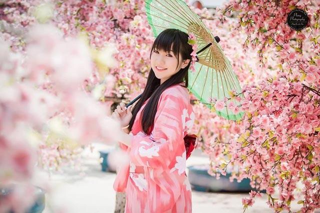 Mặc thử Kimono Nhật Bản là điều ai cũng ao ước