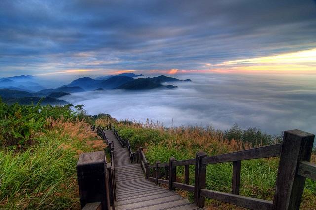 Núi Alishan như một chốn thiên đường nơi hạ giới