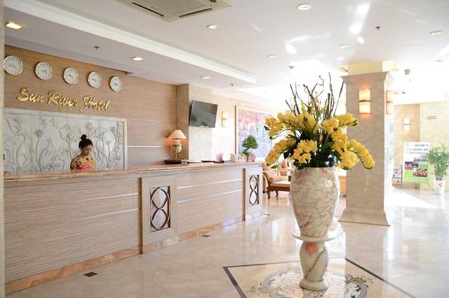 Hình 4 – Sảnh đón khách ở Sun River