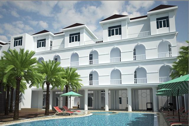 Hình 5 – Hồ bơi bên trong khách sạn Edens Plaza