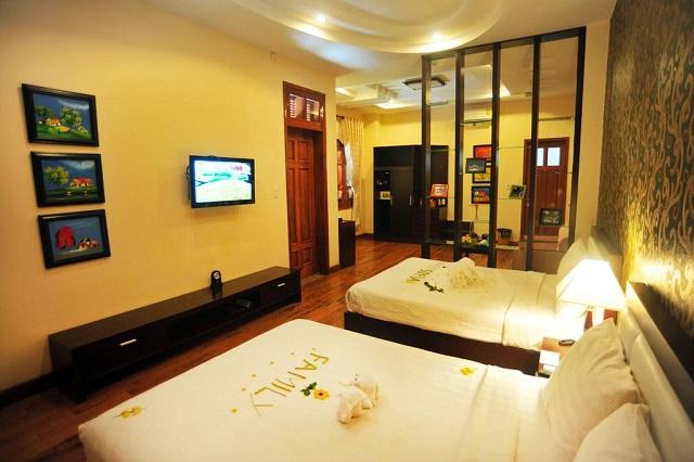 Hình 9 – Phòng ngủ tiêu chuẩn của Sofia Boutique Đà Nẵng