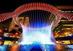 Chiêm ngưỡng đài phun nước đẹp nhất Singapore