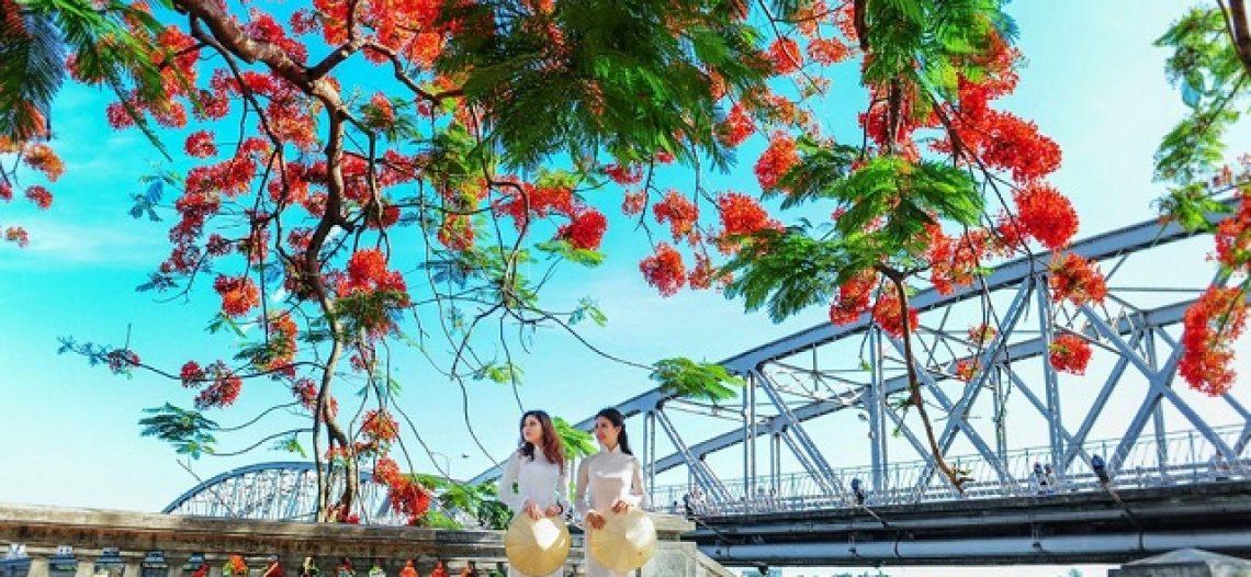 Huế ngập tràn sắc hoa trong những ngày tháng 5 vào hạ