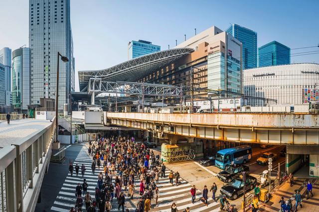 Umeda được ví như một chiếc bẫy du lịch với không khí đầy nhộn nhịp và sôi động