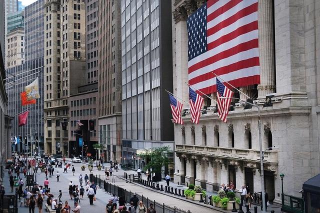 Phố Wall ở New York được xem là nơi đại diện cho sự giàu có