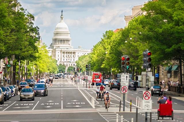 Đại lộ Pennsylvania có tên gọi khác là phố chính của Hoa Kỳ