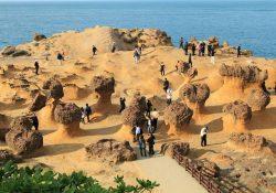 Một vòng tham quan công viên địa chất Dã Liễu ở Đài Bắc