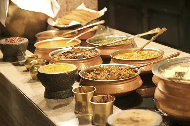 Ở khu Tiểu Ấn có rất nhiều những món ngon hấp dẫn